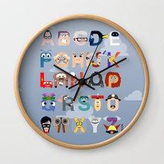 P is for Pixar (Pixar Alphabet) Wall Clock