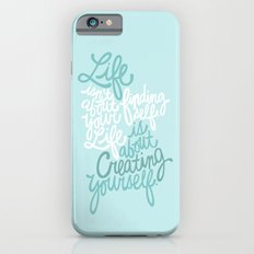 George Bernard Shaw (Teal) iPhone 6 Slim Case