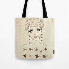 Star Girl Tote Bag