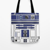 R2D2 - Starwars Tote Bag