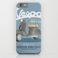 iPhone & iPod Case featuring VESPALOGY by Carlos Hernandez