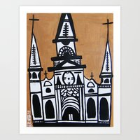 I Heart St. Louis Cathed… Art Print