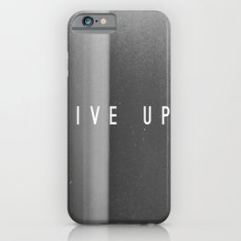 iPhone & iPod Case - Give Up - Jane Lacey Smith