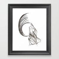 Angel under cover (home photo) Framed Art Print