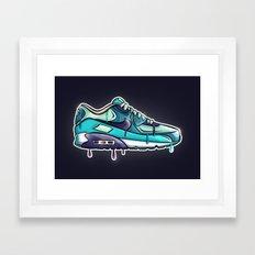 Nike air drop Framed Art Print