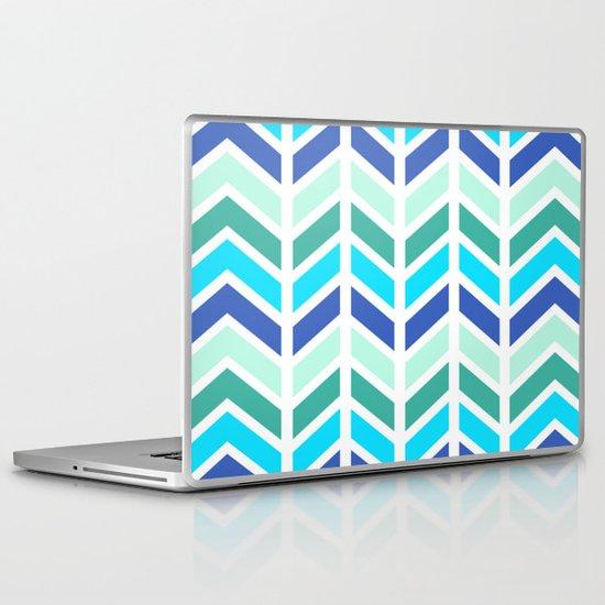 SPRING CHEVRON 2 Laptop & iPad Skin