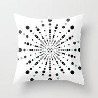 MNML_D Throw Pillow
