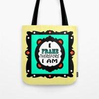 I Frame.... Fancy Tote Bag