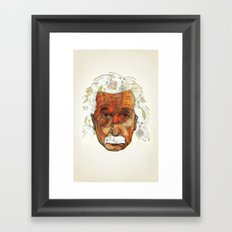 Einstein Framed Art Print