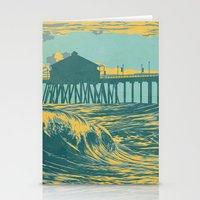 Vintage Huntington Beach… Stationery Cards