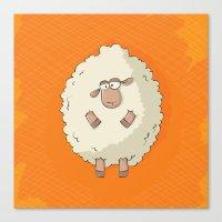 Giant Sheep Canvas Print