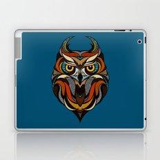 Oldschool Owl Laptop & iPad Skin