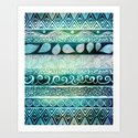 Dreamy Tribal Part VIII Art Print