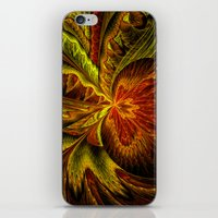 Autumn Orchid iPhone & iPod Skin
