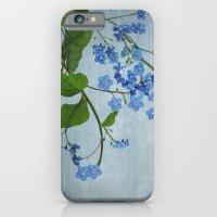 Vergissmeinnicht iPhone 6 Slim Case