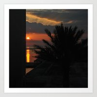 And Watch The Sun Go Dow… Art Print