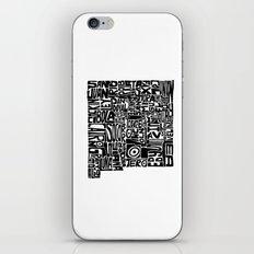 Typographic New Mexico iPhone & iPod Skin