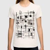 FENCES Womens Fitted Tee Natural SMALL