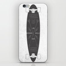 Down Hill iPhone & iPod Skin
