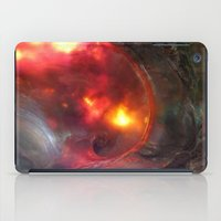 Flaming Seashell 5 iPad Case