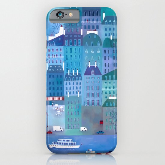 Paris Blues iPhone & iPod Case