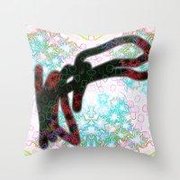 Art Star Throw Pillow