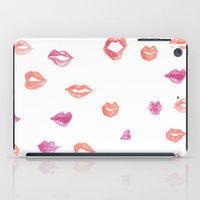 Kiss! Kiss! iPad Case