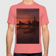Hudson Mens Fitted Tee Pomegranate SMALL