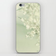 White Blooms iPhone & iPod Skin