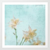 teal Art Prints featuring TEAL by SUNLIGHT STUDIOS  Monika Strigel