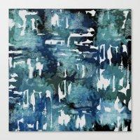 Mystic Cloud: Teal Canvas Print