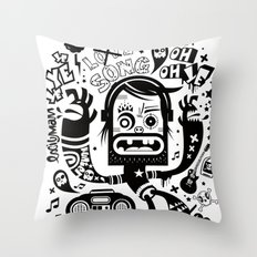 This is not a love song Throw Pillow