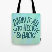 Darn It All Tote Bag
