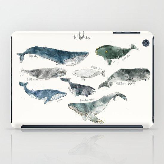 Whales iPad Case