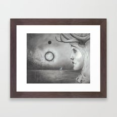 Seeing Signs Framed Art Print