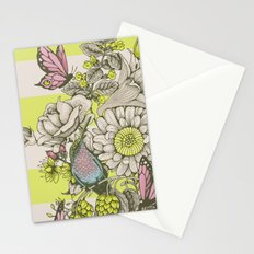 Beauty (eye of the beholder) - striped version Stationery Cards
