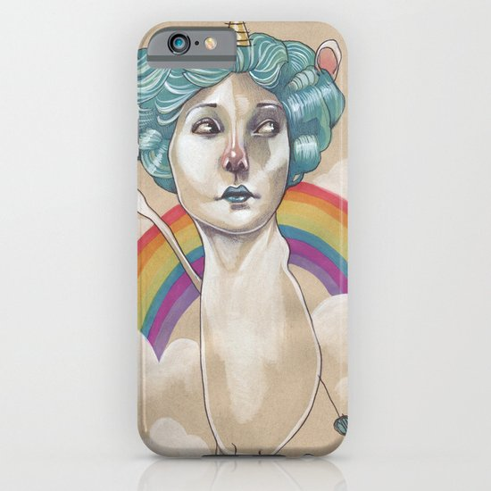 RAINBOW UNICORN iPhone & iPod Case