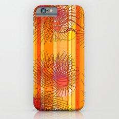 Orange stripes with bacillus Slim Case iPhone 6s