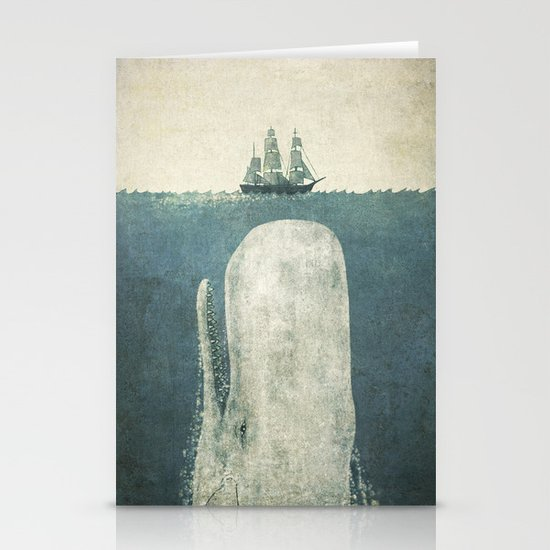 The White Whale Stationery Card