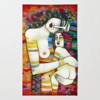 MADONE (hommage to Klimt) Rug