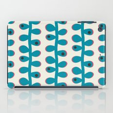 Like a Leaf [blue spots] iPad Case