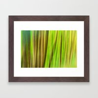 FOREST PEACE ABSTRACT Framed Art Print