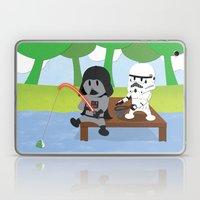 SW Kids - Darth Fishing Laptop & iPad Skin