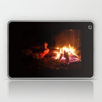 snow fire Laptop & iPad Skin