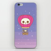 Hot Air Balloon Rides with the Reaper iPhone & iPod Skin