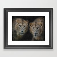 big brothers Framed Art Print