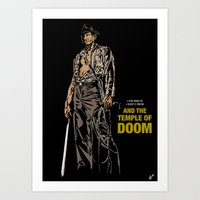 Indiana Jones: And The T… Art Print