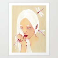 Flawless Art Print