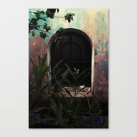 window to where Canvas Print