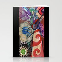 My guitar gently weeps Stationery Cards